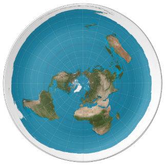 flat earth plate