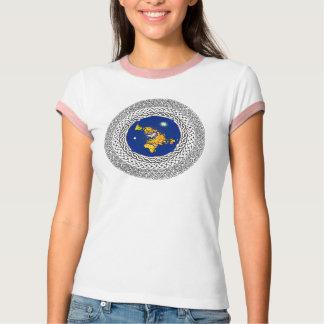 Flat Earth Psalm 37 T-Shirt