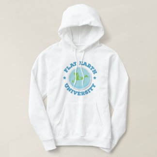 Flat Earth University -- Blue Hoodie
