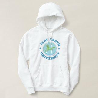 Flat Earth University -- Blue Sweatshirts