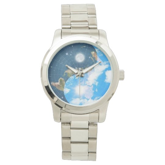 Flat Earth Yin Yang Watch - Men