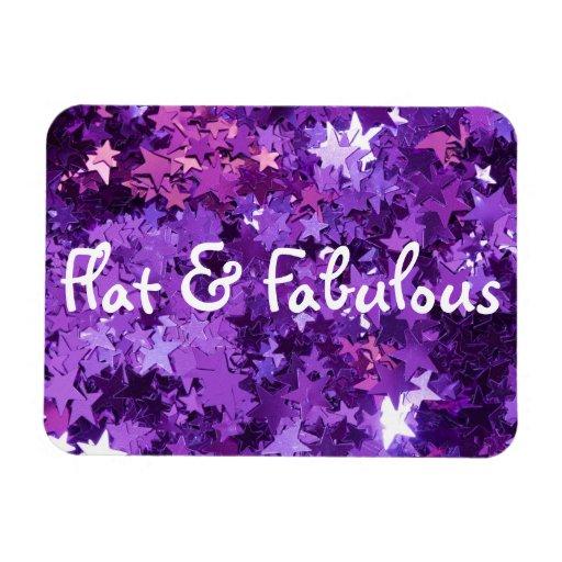 Flat & Fabulous magnet