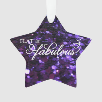 Flat & Fabulous ornament
