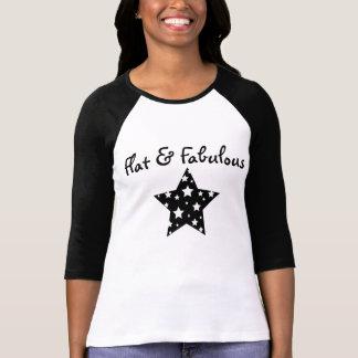 Flat & Fabulous raglan Shirts