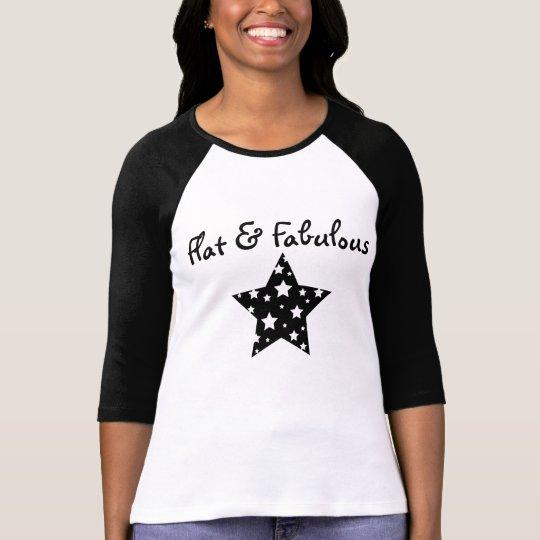 Flat & Fabulous raglan T-Shirt