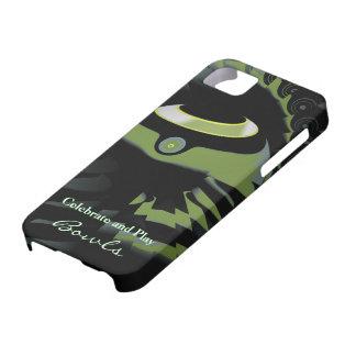 Flat Green Bowls iPhone 5 Case