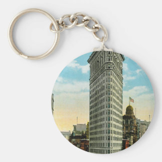 Flat Iron Building. Broadway and Fifth Ave. NYC Key Ring