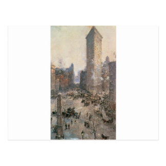Flat Iron Building, New York circa 1908 Postcard