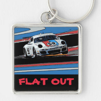FLAT OUT KEY RING