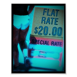 ~Flat Rate~ POSTER