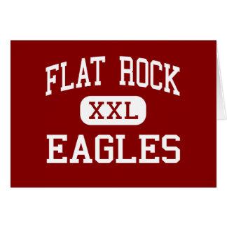 Flat Rock - Eagles - Middle - Tyrone Georgia Greeting Card