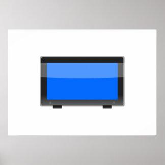 Flat Screen TV Poster