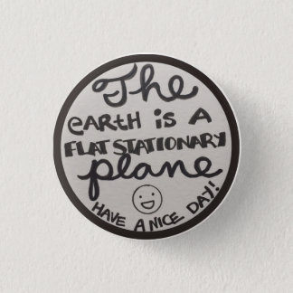 Flat Stationary plane badge