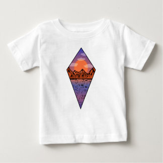 Flat sunrise baby T-Shirt