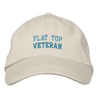 FLAT TOP VETERAN cap Embroidered Hats