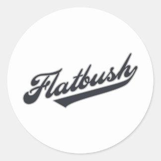 Flatbush Classic Round Sticker