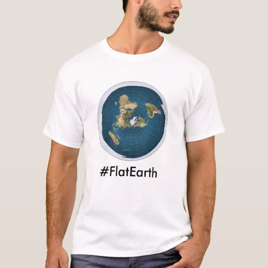 #FlatEarth T-shirts