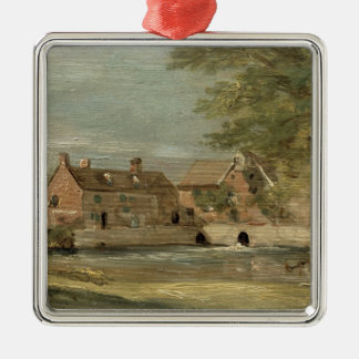 Flatford Mill (oil on panel) Christmas Ornament