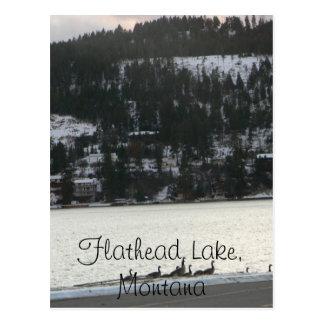 Flathead Lake , Montana Postcard