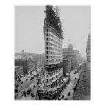 Flatiron Building, 1902. Vintage Photo Poster