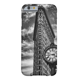 Flatiron Building and Clock in Black and White 1C2 iPhone 6 Case