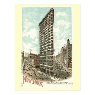 Flatiron Building, New York City 1902 Vintage Postcard