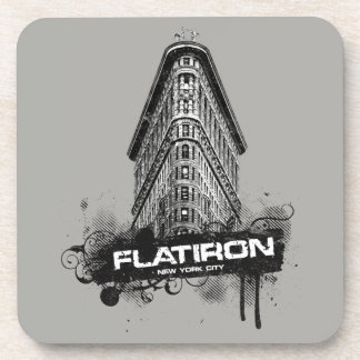 Flatiron Building New York City Coaster Set