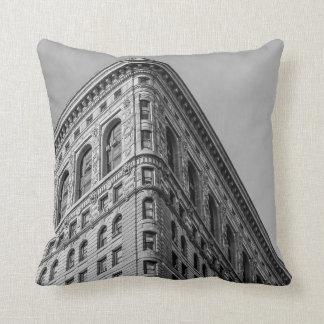 Flatiron Building New York City Photo Cushion