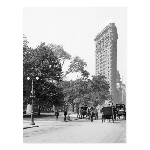 Flatiron from 5th, NYC: 1906 Post Cards