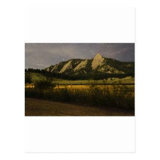 Flatirons Postcard