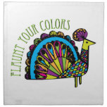 Flaunt Your Colors Printed Napkin