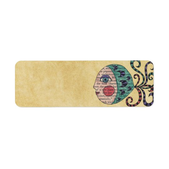Flavia original art address labels
