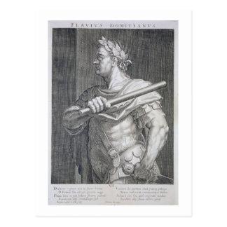 Flavius Domitian (AD 51 - AD 96) Emperor of Rome 8 Postcard