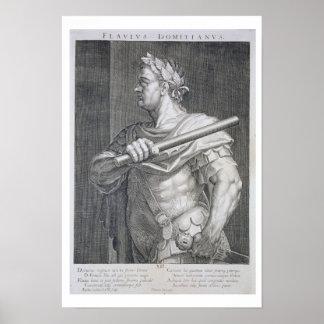 Flavius Domitian (AD 51 - AD 96) Emperor of Rome 8 Poster