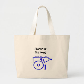 Flavor of the Road Large Tote Bag