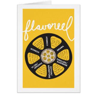 Flavoreel Mustard Notecard Note Card