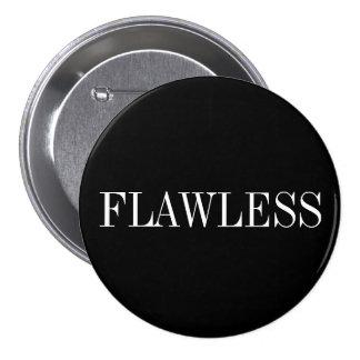 Flawless 7.5 Cm Round Badge