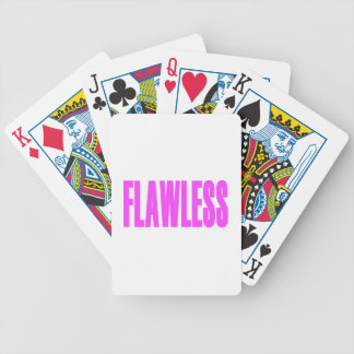 FLAWLESS CARD DECKS