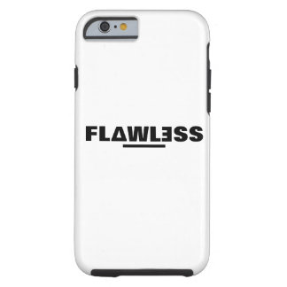 Flawless Iphone 6/6s black and white case