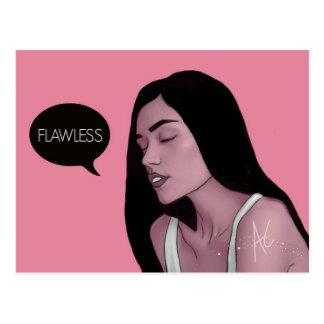 FLAWLESS Postcard