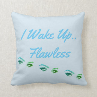 'Flawless' Throw Pillow