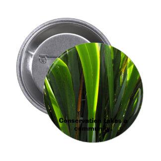 Flax Leaves Pins