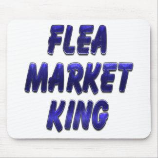 Flea Market King Blue Mouse Pad