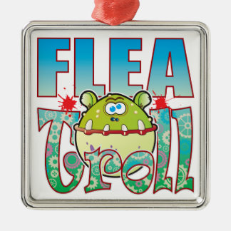 Flea Troll Christmas Ornament