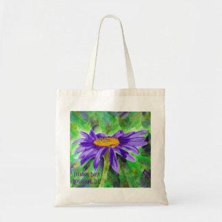Fleabane Daisy Tote Bag