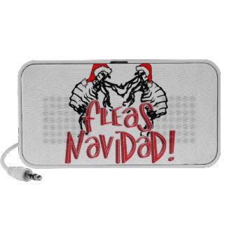 Fleas Navidad - Dancing Christmas Fleas Travel Speaker