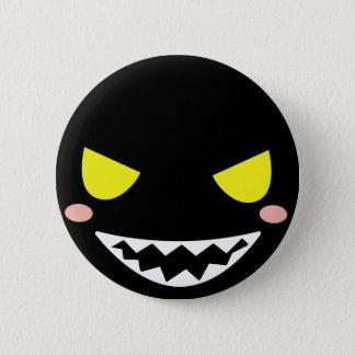Fleck the Black Ghost Head 6 Cm Round Badge