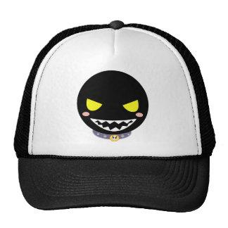 Fleck the Black Ghost Head Cap
