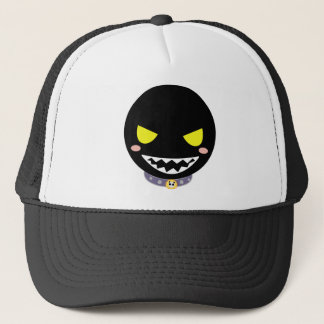 Fleck the Black Ghost Head Trucker Hat