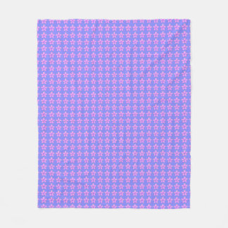 Fleece-Blanket-Children's-Nursery-Lavender-Floral Fleece Blanket